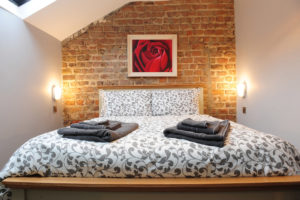 the Rose Room at Talbot Coach House - industrial chic