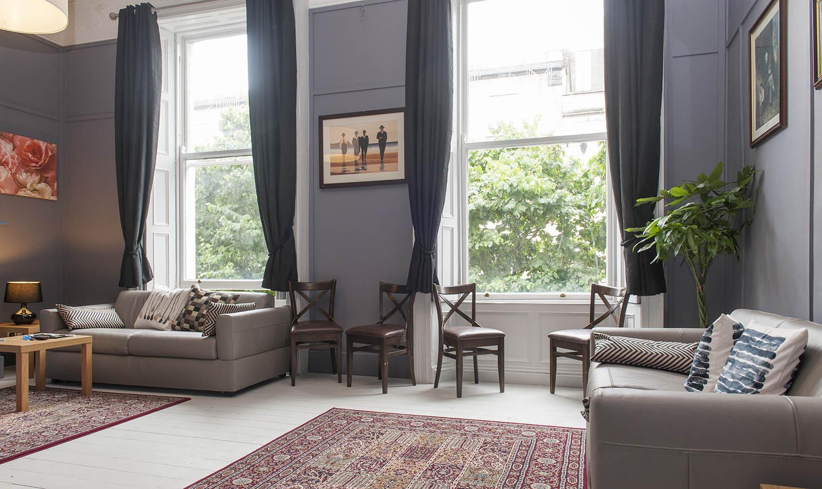 Georgian Grand Apartment Lounge Dublin Vacation | My ...