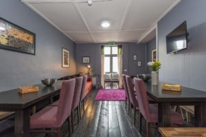 Georgian Loft Apartment dining area by My Dublin Vacation