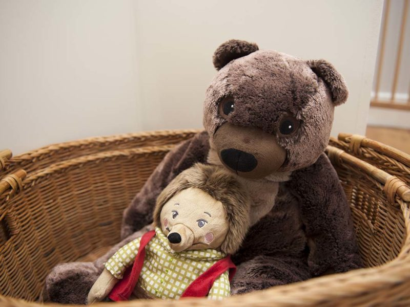 Charming Townhouse Teddy & Friend