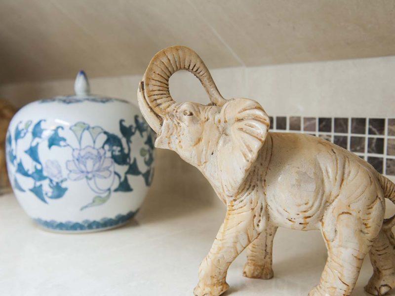 My Dublin Vacation Elephant and Vase
